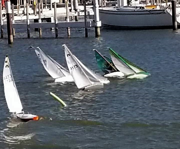Sailboat Racing – Cleveland Model Boat Club